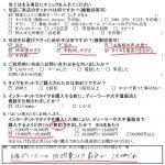 藤沢市O様 日産キューブZ11 Amazonでタイヤを購入して約15,000円~20,000円の節約!!