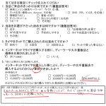 大和市M様 フーガのタイヤをネットで購入して3万円以上の節約!!