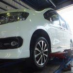 大和市S様 ホンダステップワゴン タイヤをネットでタイヤを購入して約62,000円の節約!!