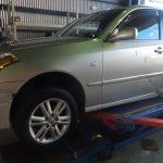 横浜市緑区Y様 トヨタマークⅡブリッドのタイヤ交換をタイヤフェスタ込み込みセットで承りました!!