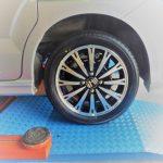 大和市I様 ホンダN-BOXのタイヤ交換を承りました!「他店より安く済むし、タイヤ直送はとても助かるので広めたい。」