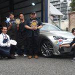 2回目のご利用♪秦野市S様 レクサスIS300 再度ご利用の理由は「予約のしやすさ」「タイヤ直送」「技術力!!」