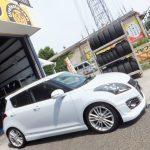 大和市O様 トヨタスイフトスポーツ タイヤをネットで買って3万円以上の節約♪「AB:108,000円」