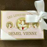 パリのお土産*デメル猫の舌のチョコレート