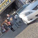 2回目のご利用!横浜市戸塚区K様レクサス IS250 のタイヤ交換でスタッフとパチリ♪