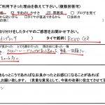 3回目のご利用♪藤沢市Y様よりスバルWRX  STIのタイヤ交換を承りました!!