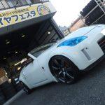 横浜市M様より日産フェアレディZのタイヤ交換を承りました♪