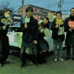 お得な事例*横浜市O様 トヨタプリウス50「オートバックスより2~3万円の節約!!」スタッフとパチリ♪