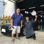 湘南平塚店♬♪平塚市S様アウディのタイヤ交換でスタッフとパチリ!