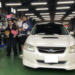 湘南平塚店♬♪藤沢市K様スバルエクシーガのタイヤ交換でパチリ♪