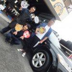 大和市T様 日産ムラーノのタイヤ交換でスタッフとパチリ♪