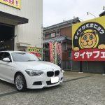 湘南平塚店♪平塚市M様よりBMW116 Mスポーツのタイヤ交換を承りました♪