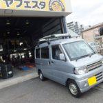 大和店♪横浜市瀬谷区I様お得な込み込みセットでミニキャブのタイヤ交換♬