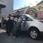 湘南平塚店♪ お得なコミコミセットで 三菱 デリカ のタイヤ交換♬パチリもご一緒に♪