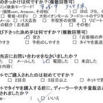 湘南平塚店! 伊勢原市Y様 フリードのタイヤ交換で1万5千円~2万円節約!!
