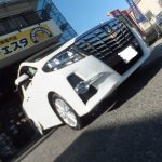 大和店♪綾瀬市K様よりトヨタアルファードのタイヤ交換を承りました♬ネットでタイヤを買って約5万円の節約!!