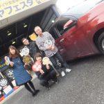 大和店♪綾瀬市T様トヨタパッソのタイヤ交換でスタッフとパチリ♪