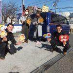 大和店♪横浜市S様 シボレー アストロのタイヤ交換でスタッフと一緒写真📷