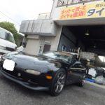 大和店♪横浜市瀬谷区K様よりマツダRX-7のタイヤ交換を承りました♪