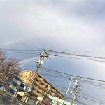 ダブルの虹ですよ!!