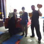 大和店♪多摩市 S様 スバル WRX STIのタイヤ交換♪スタッフ一緒に記念写真!