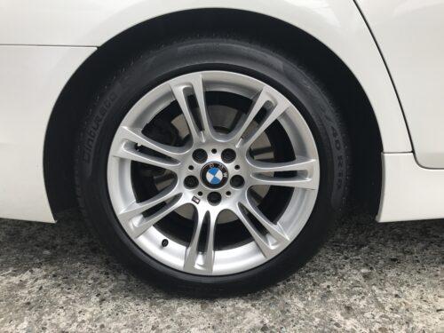 湘南平塚店♪リピーターの寒川町 I様 BMW 528iのタイヤ交換♪決め手は「価格・予約のしやすさ・家から近いから」!